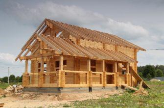 брус для крыши размеры