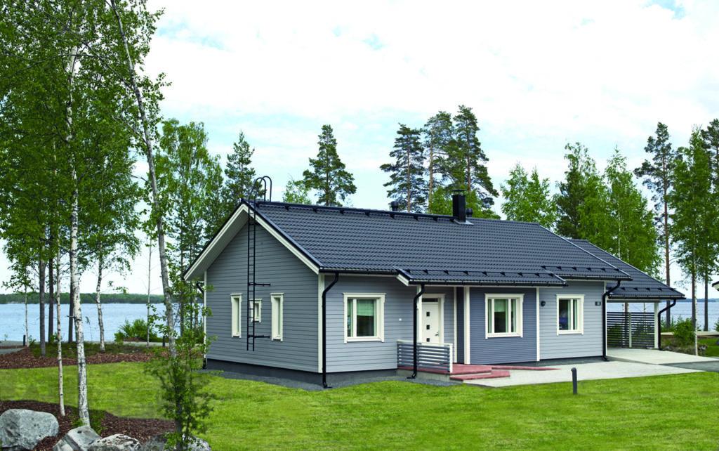 кровля финского дома