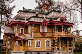 русская крыша дома